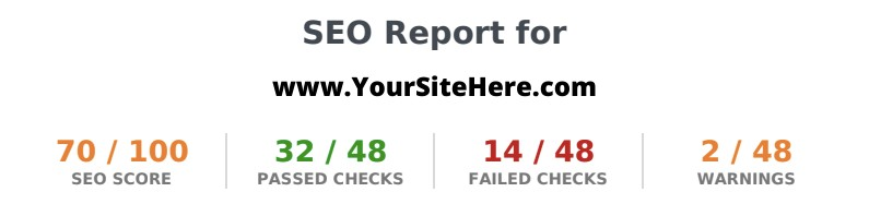 www.Your Site Here.com  - SEO
